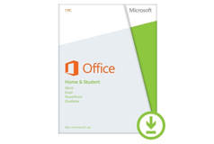 *Microsoft Office Home & Student License