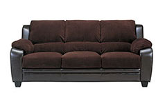 Monica Sofa in Brown - Click for more details