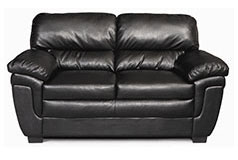 Fenmore Loveseat in Black - Click for more details
