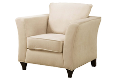 Park Place Chair in Cream - Click for more details
