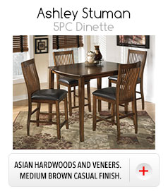 *Ashley Stuman 5PC Dinette