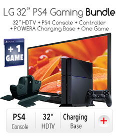 "*LG 32"" PS4 Gaming Bundle"