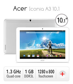 *Acer Iconia A3 10.1 Tablet