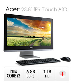 "*Acer 23.8"" IPS Touch AIO"