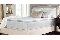 *CRYSTAL COVE PLUSH Mattress Set - Queen
