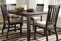 Dresbar 5 Piece Dinette in Brown - Click for more details