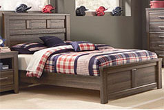 Juararo Full Bedroom Set in Brown - Click for more details