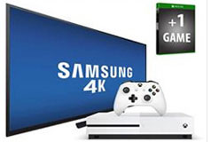 "Samsung 55"" UHD 4K Smart TV & Xbox One S Bundle"