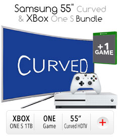 "*Samsung 55"" Curved & Xbox Bundle"