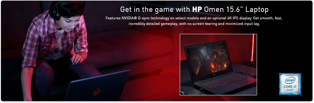 "*HP Omen 15.6"" Laptop"