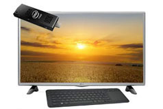 "Compute Stick TV Bundle - 32"" LG"