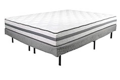"9"" Queen Firm Alta Mattress Set"