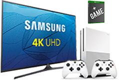 "Samsung 50"" UHD 4K Smart TV & Xbox One S Bundle"