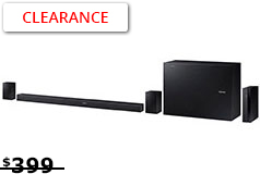 Samsung 5.1 Soundbar (Wireless Subwoofer/ Bluetooth)  - Click for more details
