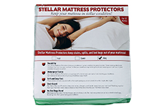 "<p style=""text-decoration-style: initial; text-decoration-color: initial;"">Stellar Mattress Protector<p style=""text-decoration-style: initial; text-decoration-color: initial;"">Queen Size 13"" depth - Click for more details"