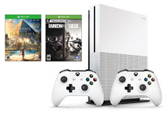 Xbox One S Assassin's Creed Bundle(1TB/2 Controllers/2 Games) - Click for more details