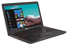 Asus 15.6'' GamingIntel® Core™ i7-7700HQ Processor 2.8 GHz (6M Cache, up to 3.8 GHz)  - Click for more details