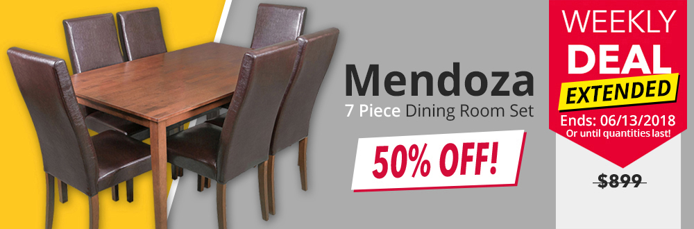 Mendoza 7 Piece Dining Set