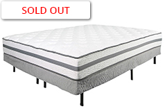 "Alta Plush 11"" Queen Mattress Set Mattress and Foundation - Click for more details"