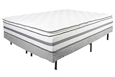 "Alta Pillow-top Plush 13"" King Mattress Set Mattress and Foundation - Click for more details"