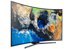 "Samsung 65""   Curved 4K UHD LED Smart TV - Click for more details"