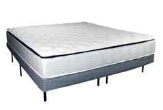 "Sleep Rest 11"" Cushion Firm King Mattress SetMattress and Foundation - Click for more details"