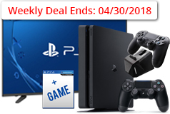 "Sharp 50"" 4K Smart TV &  PS4 Slim 1TB Bundle - Click for more details"