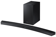 Samsung 2.1 Channel Curved Soundbar (260W / Wireless Subwoofer) - Click for more details
