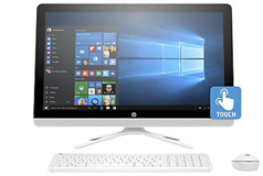 "HP AIO 24"" G229(Touchscreen/Intel Pentium J3710/8GB RAM/1TB HDD/ Win 10) - Click for more details"