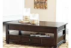 Barilanni Coffee Table with Lift Top - Click for more details