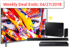 "Samsung 55"" 4K Smart QLED TV& FREE Samsung 5.1 Soundbar & Samsung 4K Blu-ray Player - Click for more details"