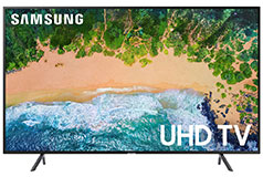 "Samsung 75"" 4K UHD LED Smart TV with HDR"