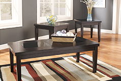 Denja 3 Piece table set    Coffe table, 2 end tables - Click for more details