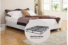 "Sleep Rest 11"" King Mattress SetIncludes: Mattress and 2-in-1 Bed & Box Spring - Click for more details"