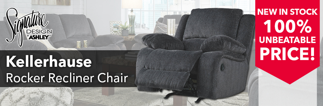 Kellerhause Rocker Recliner Club Chair