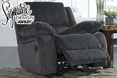 Kellerhause Rocker Recliner Club Chair by Signature Design by Ashley 75704 - Click for more details