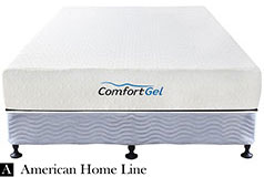 "Comfort Gel 10"" Queen Mattress Set Includes: Mattress and2-in-1 Bed & Box Spring - Click for more details"