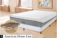 "The Supreme Hybrid 13"" Queen Set  Includes: Mattress and   2-in-1 Bed & Box Spring - Click for more details"