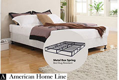 "Sleep Rest 13"" Queen Mattress Set Includes: Mattress and 2-in-1 Bed & Box Spring - Click for more details"