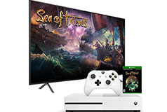 "Samsung 50"" 4K Smart TV  & Xbox One S 1TB Sea of Thieves Bundle - Click for more details"