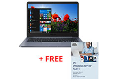 "Asus N4000 14"" Laptop + Free Corel PC Suite - Click for more details"