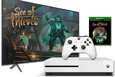 "Samsung 65"" 4K Smart TV + Xbox Sea of Thieves Bundle - Click for more details"