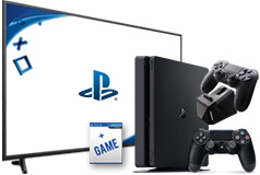 "Samsung 55"" 4K UHD Smart TV & PlayStation 4 Slim 1TB  Bundle - Click for more details"