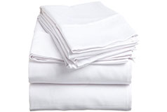 Spirit PremiumKing Size Bed Sheets in White  - Click for more details