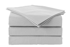 Spirit Premium Queen Size Bed Sheets in Grey - Click for more details