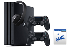 PlayStation 4 Pro 1TB Bundle  2018 Revised Model - Click for more details