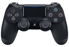 PS4 Dualshock 4 Wireless  Controller - Black - Click for more details