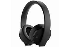 PS4 Gold Wireless Stereo Headset - Black - Click for more details