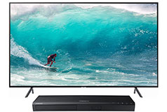 "Samsung 50"" 4K Smart TV  NU7100 2018 Model  with FREE Samsung Blu-ray Player - Click for more details"