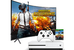 "Samsung 55"" 4K Curved TV NU7300 2018 Model & Xbox One S 1TB Bundle - Click for more details"